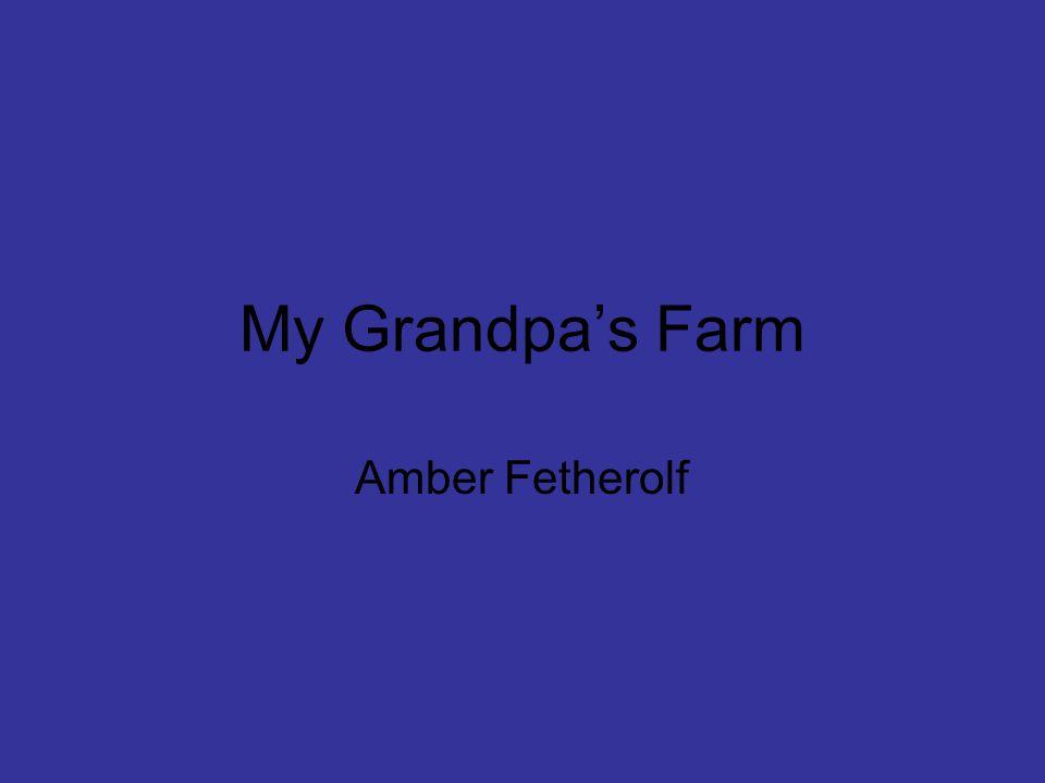 My Grandpa's Farm Amber Fetherolf