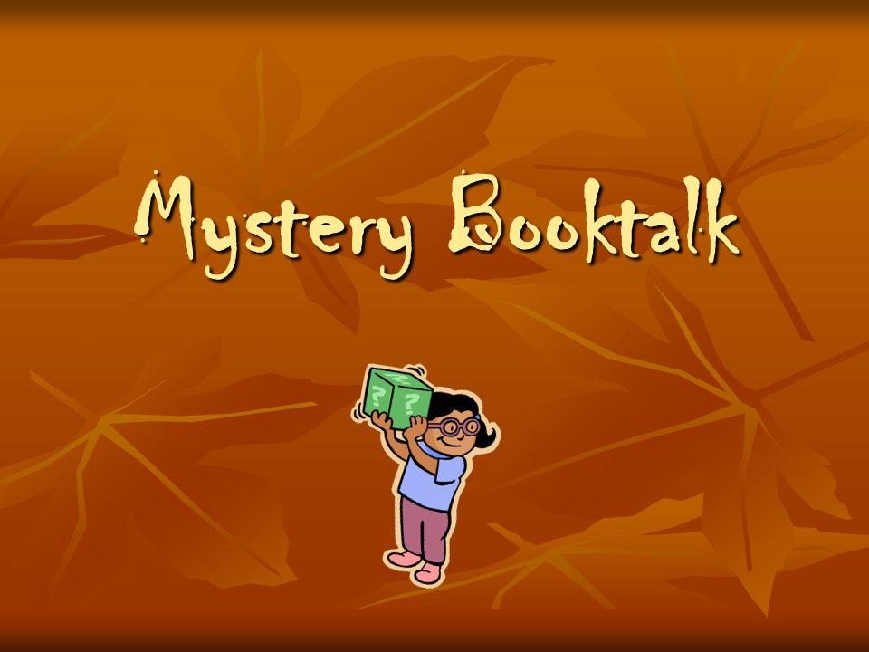 Mystery Booktalk