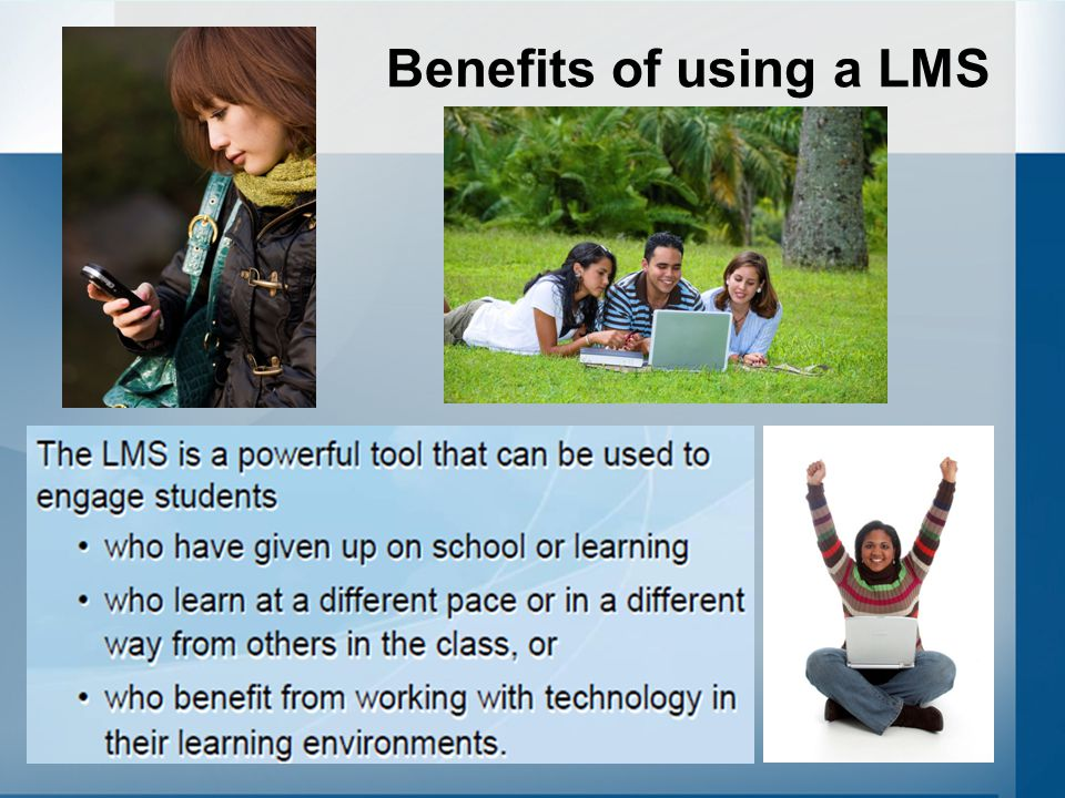 Benefits of using a LMS