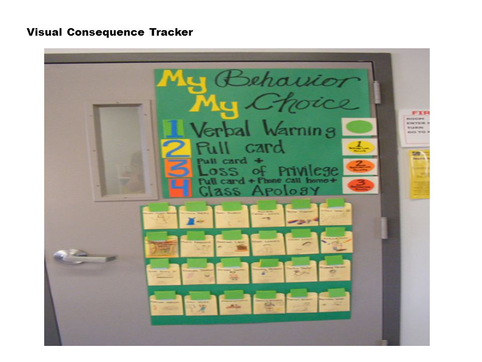 Visual Consequence Tracker