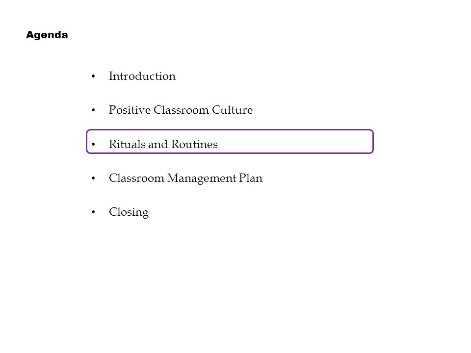Content Learning Objectives