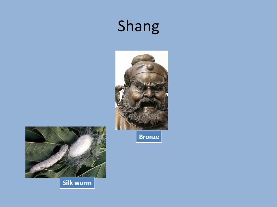 Shang Silk worm Bronze