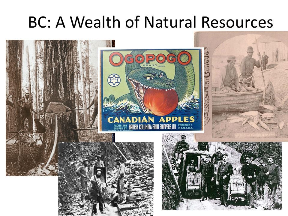 BC: A Wealth of Natural Resources