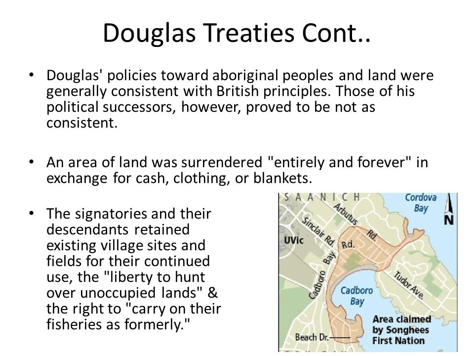 Douglas Treaties Cont..