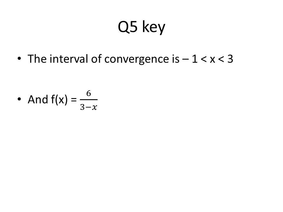 Q5 key