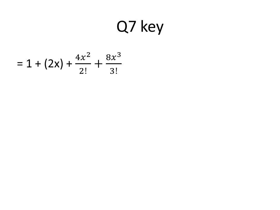 Q7 key