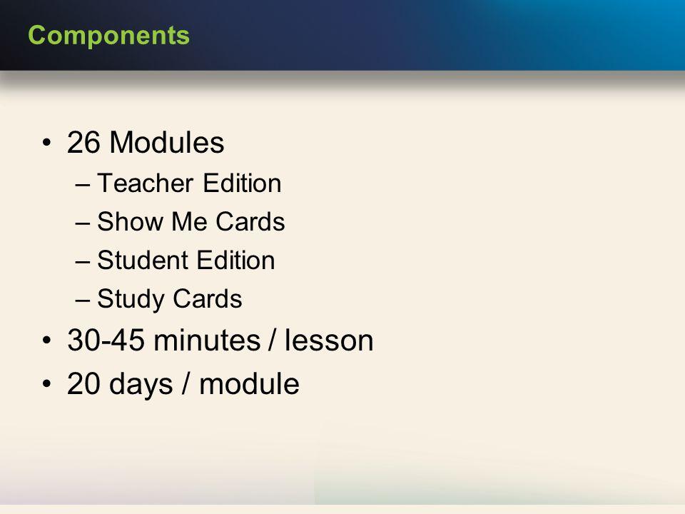 Sample Student Report