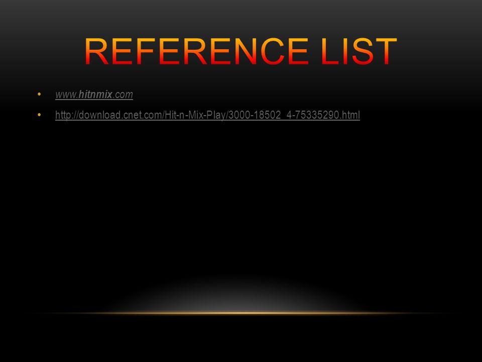 www. hitnmix.com www. hitnmix.com http://download.cnet.com/Hit-n-Mix-Play/3000-18502_4-75335290.html