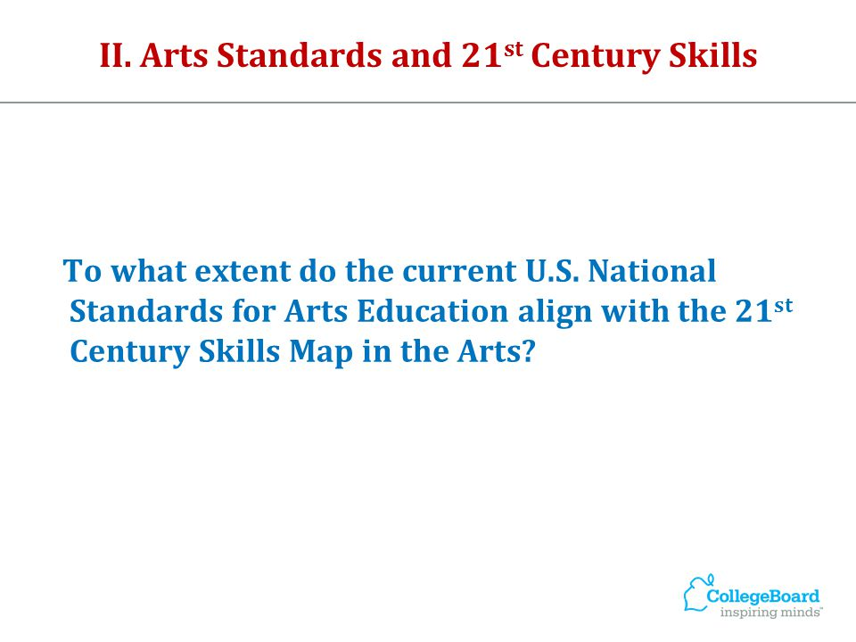 Revised Bloom's Taxonomy State Standards in Arts Education Key Findings: Pedagogical themes or trends