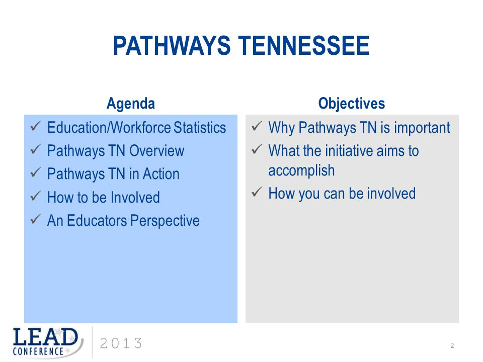 13 Building Tennessee's Pathways: Aligning Tennessee's Educational Achievement Goals with Its Diverse Industry Needs and Opportunities Image Credit: Corporate Voices for Working Families