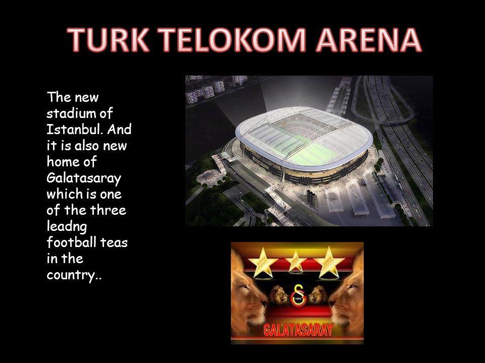 The new stadium of Istanbul.