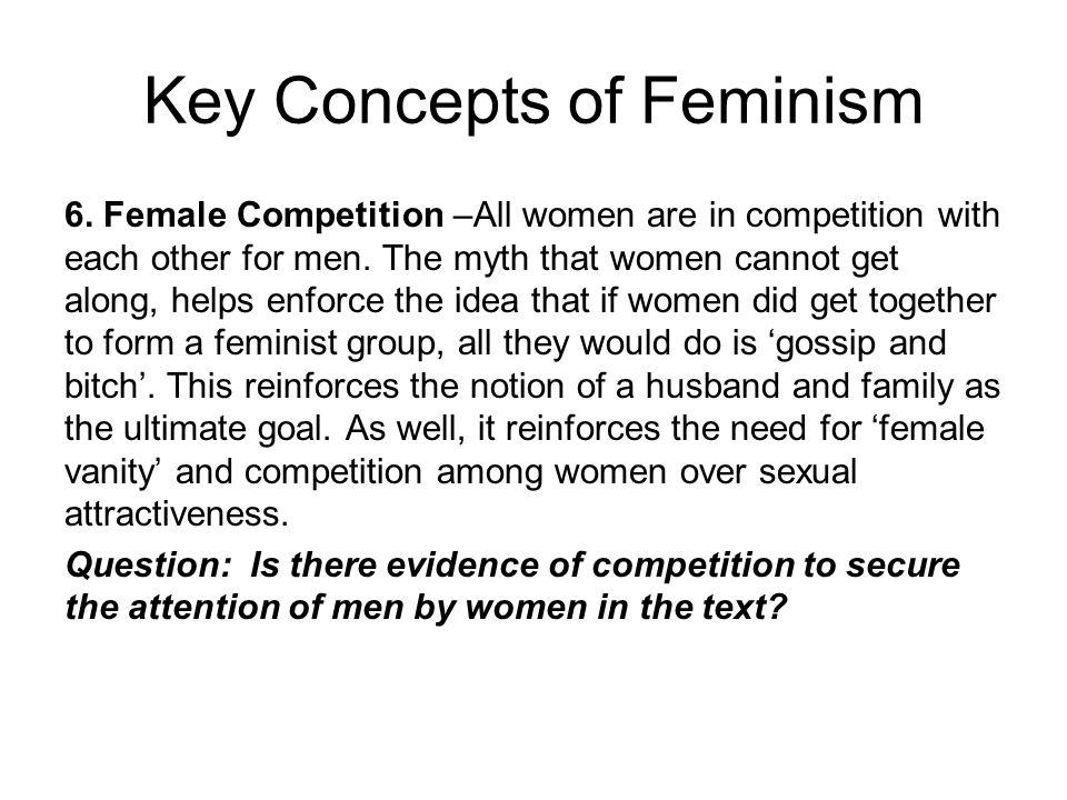Key Concepts of Feminism 6.