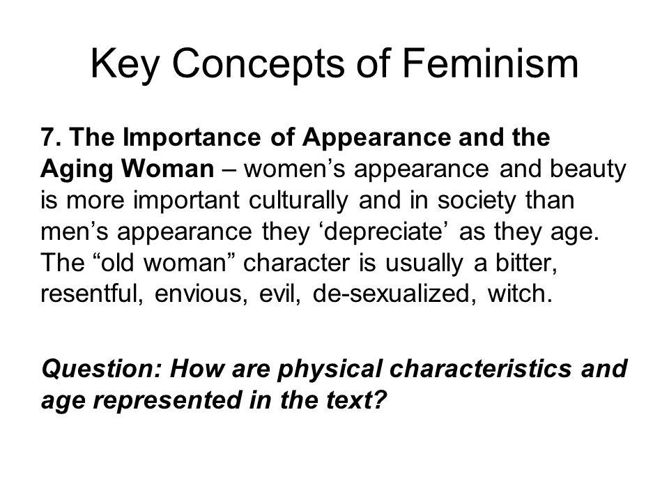 Key Concepts of Feminism 7.