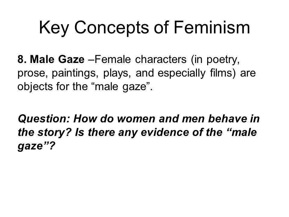 Key Concepts of Feminism 8.