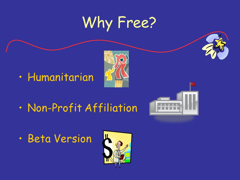 Why Free Humanitarian Non-Profit Affiliation Beta Version