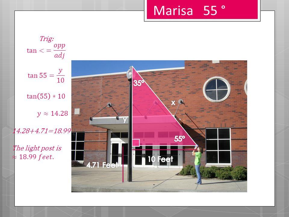 Marisa 55 °