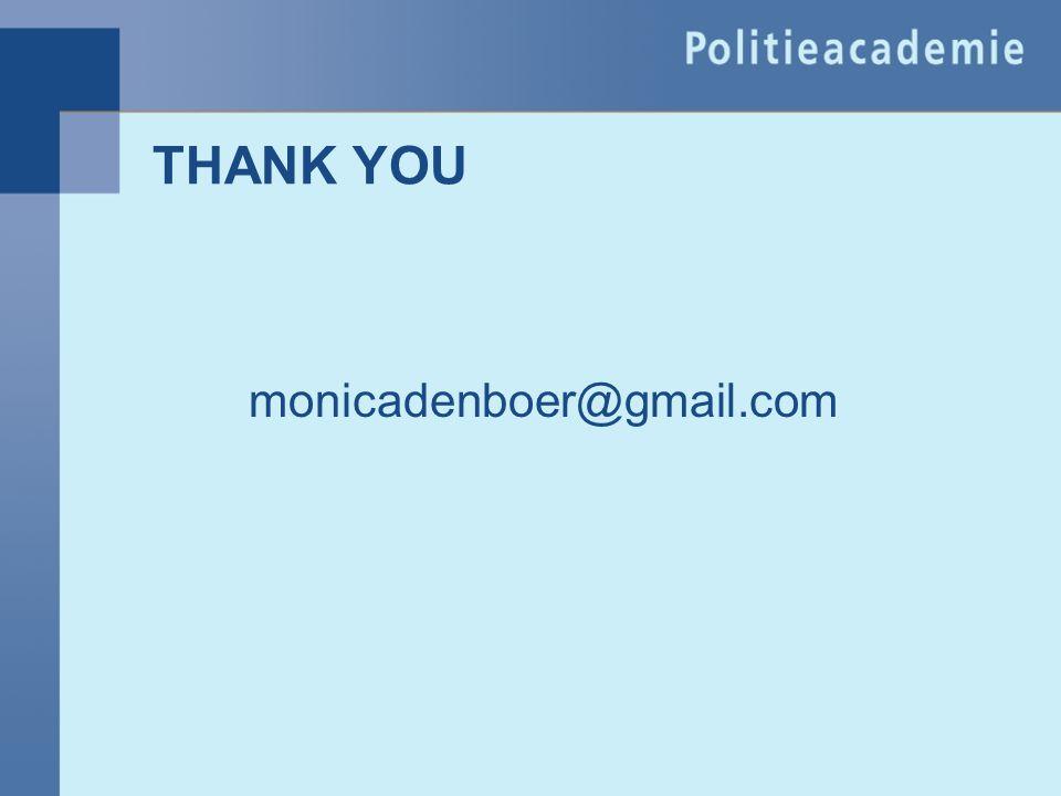 THANK YOU monicadenboer@gmail.com