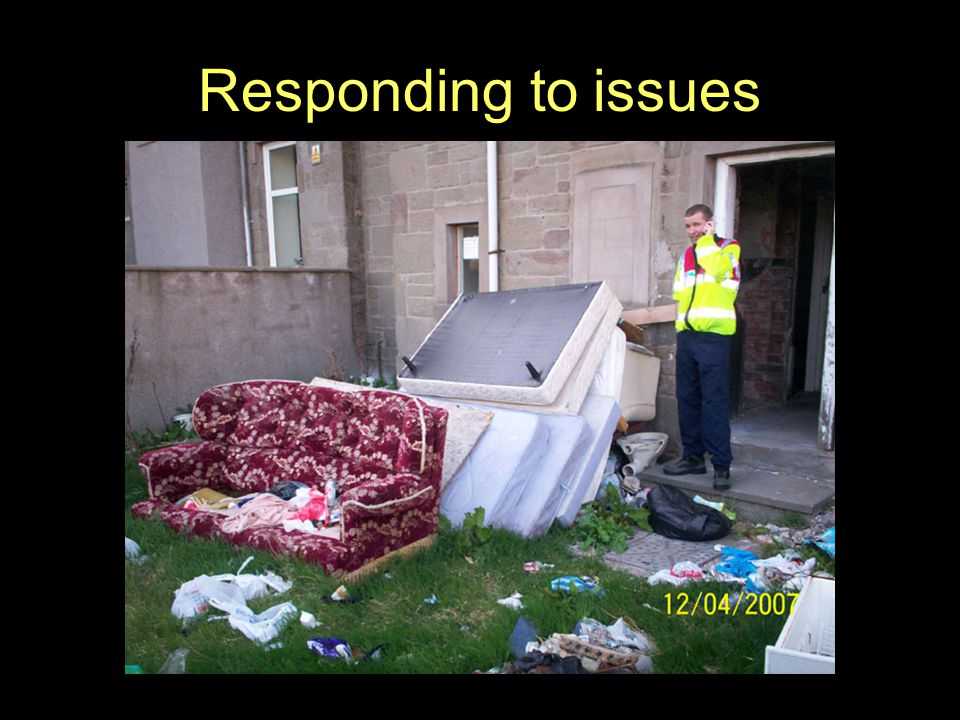 Responding to issues