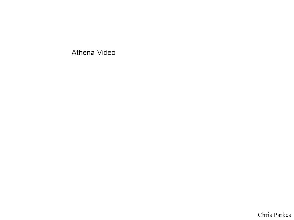 Chris Parkes Athena Video