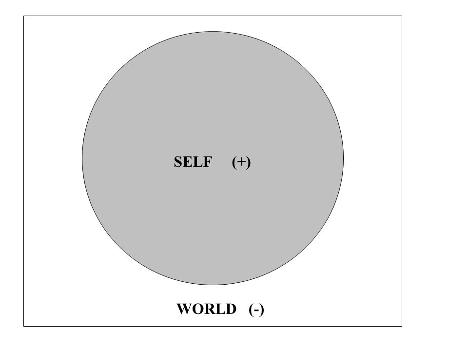 SELF (+) WORLD (-)