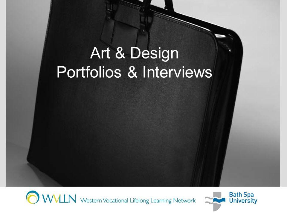 Art & Design Portfolios & Interviews