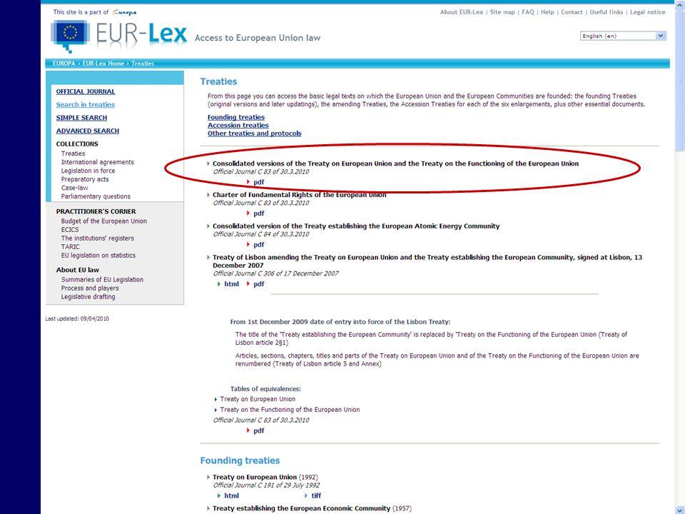 Case citation Denotes the CourtNames of parties C-2/00 Hölterhoff v Freiesleben Case number and year, i.e.