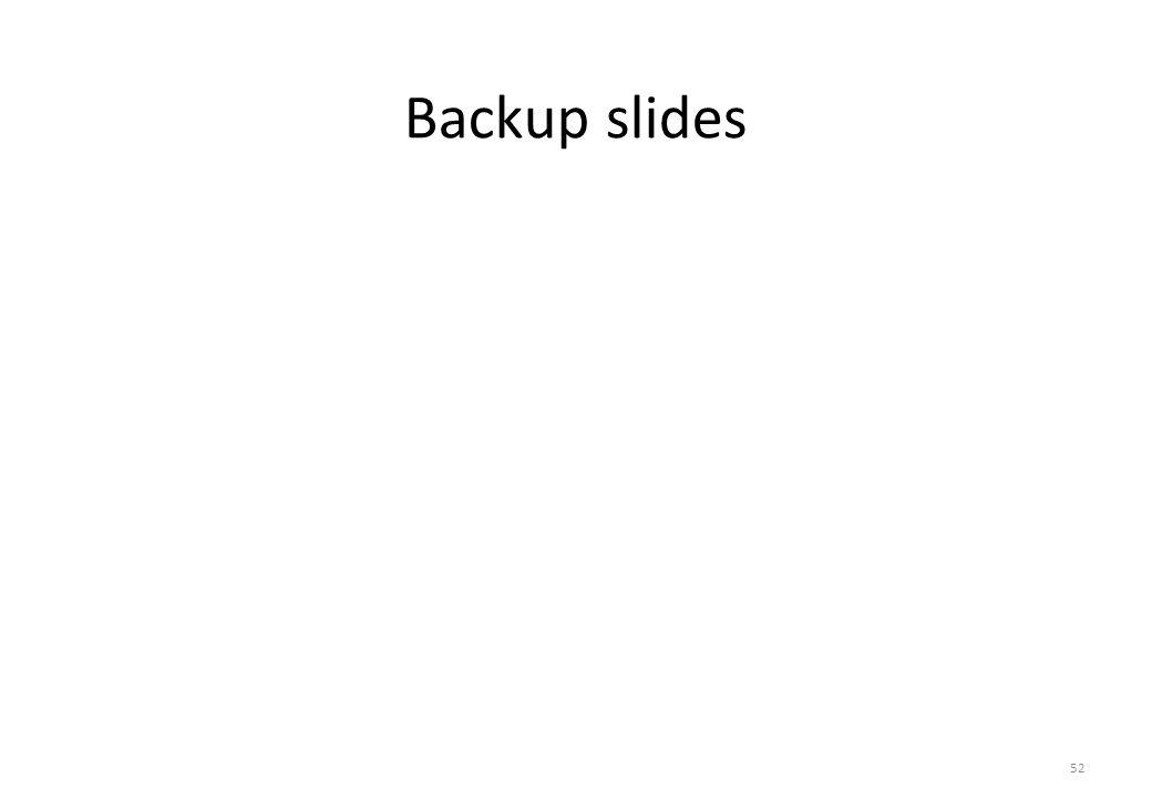 Backup slides 52