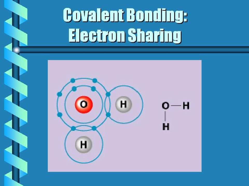 Element Bonds HOSNCPHOSNCP 122343122343 Number of electrons in the outer shell 166545166545