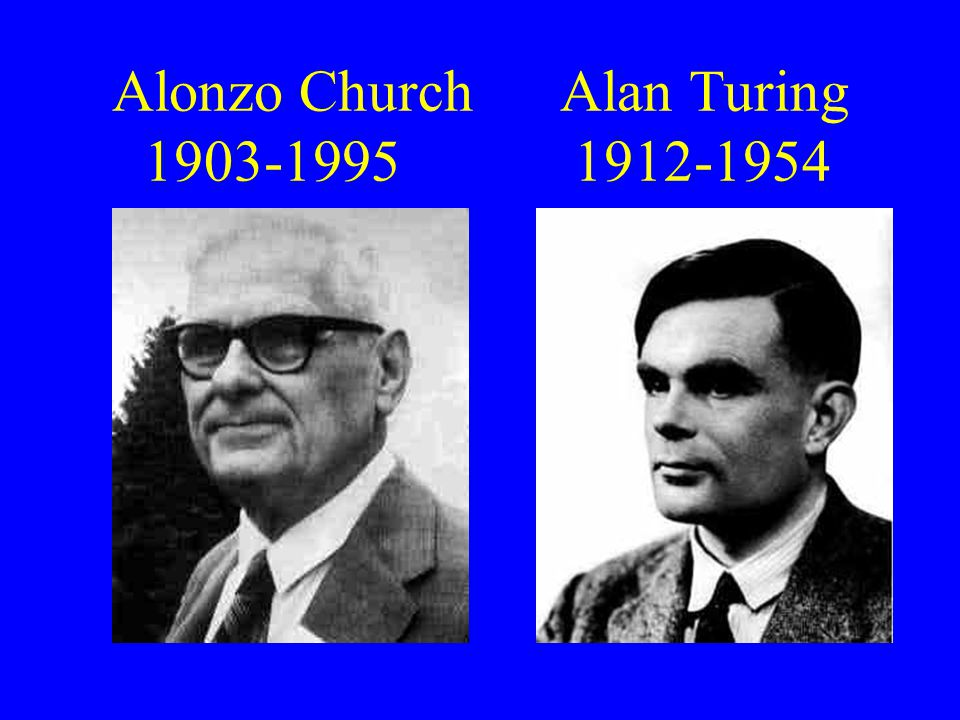 Church Alonzo Church, 1936, An unsolvable problem of elementary number theory.