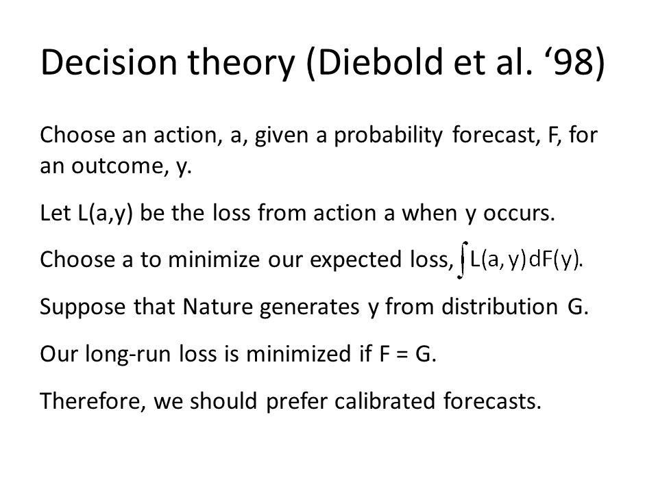 Decision theory (Diebold et al.