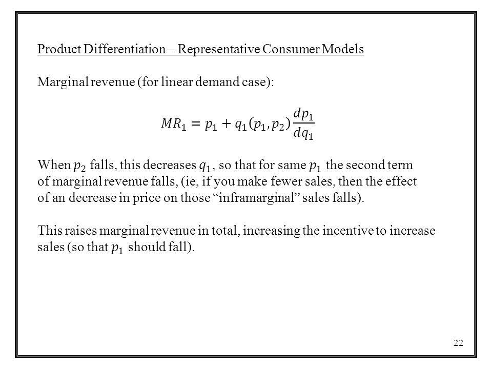 23 Reaction function of firm 2 Reaction function of firm 1 equilibrium
