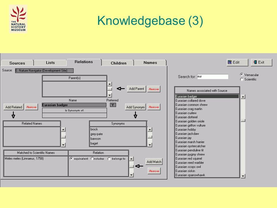 Knowledgebase (3)