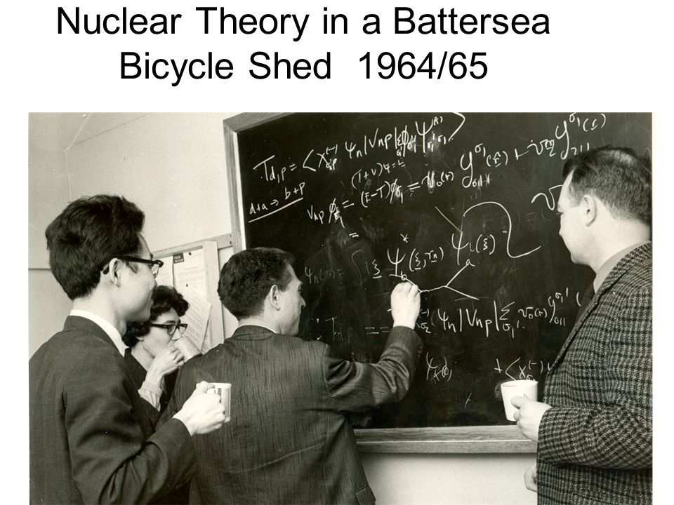 Nuclear Theory in a Battersea Bicycle Shed 1964/65