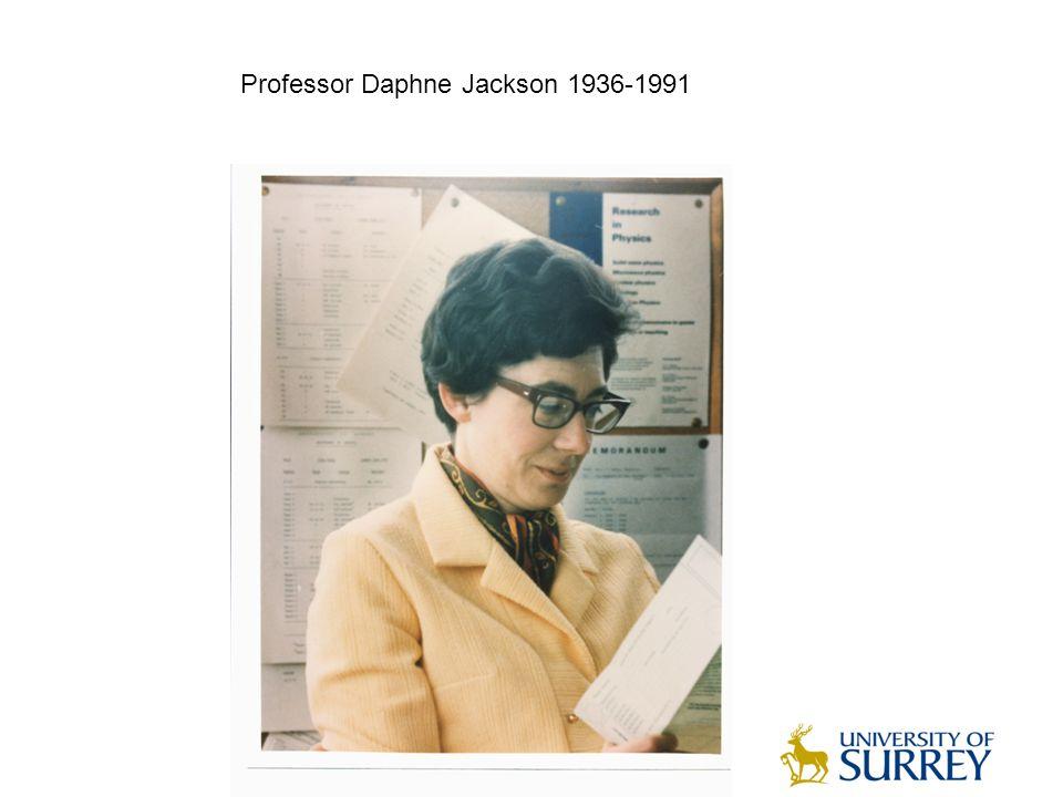Professor Daphne Jackson 1936-1991