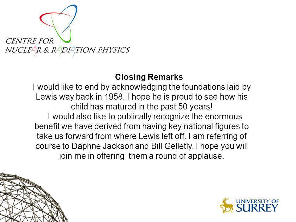 Surrey Nuclear Physics