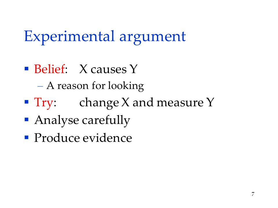 Statistical experiments  Natural variation – People, environment, stochastic  Systematic vs chance differences  No certainty 8