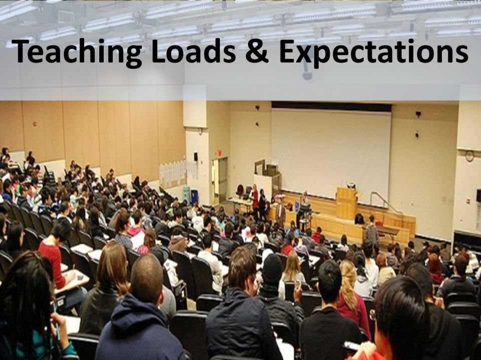 Teaching Loads & Expectations