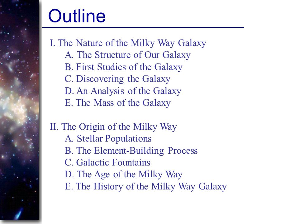 Quiz Questions 19.At what wavelength band can we observe the center of our galaxy.