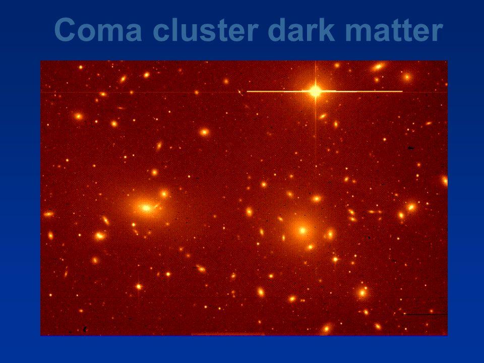 Coma cluster dark matter
