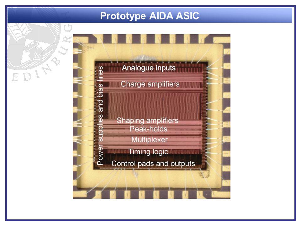 Prototype AIDA ASIC