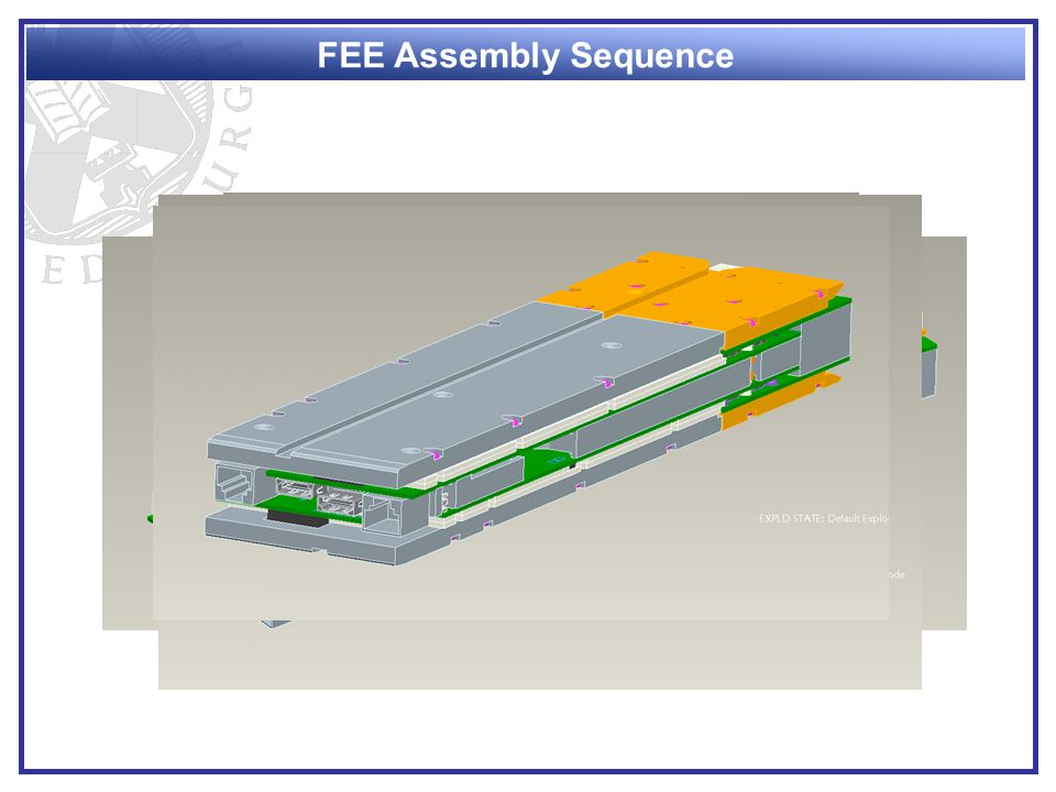 FEE Assembly Sequence