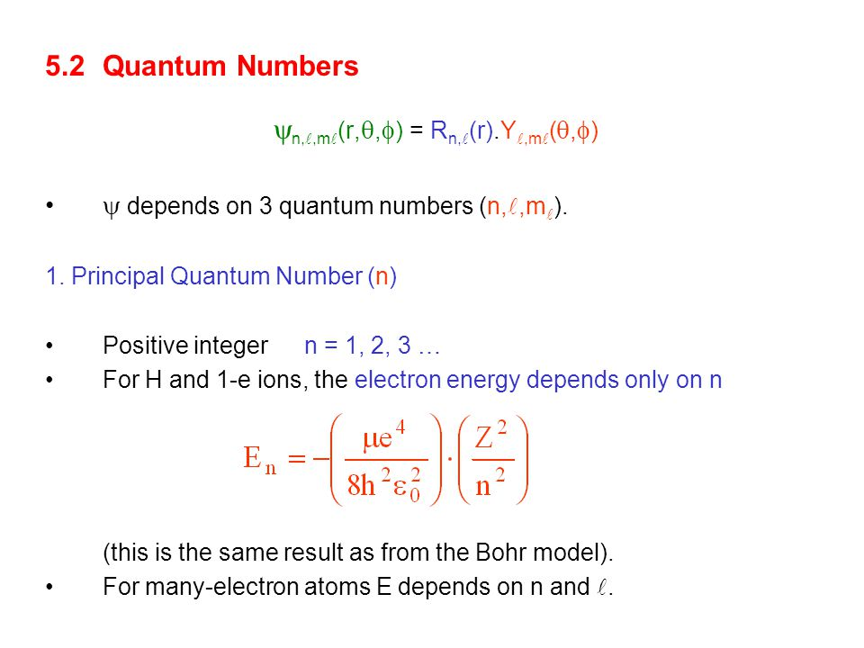For N electrons:  N =  (r 1,r 2,r 3 … r N ) For > 1 e, S.E.