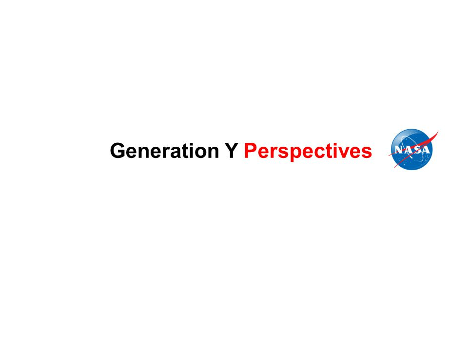Generation Y Perspectives