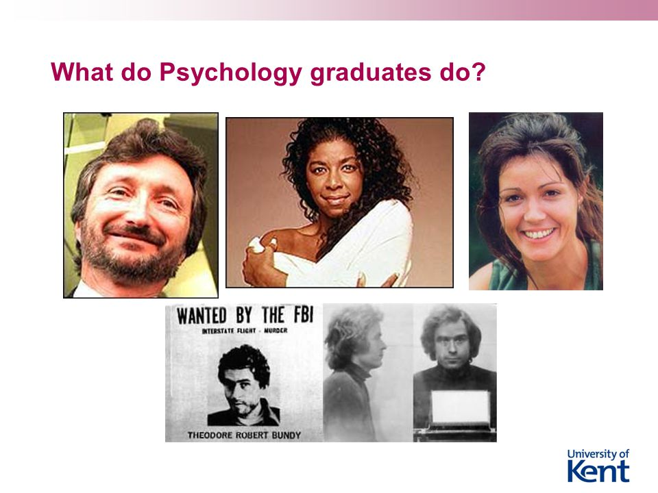 What do Psychology graduates do