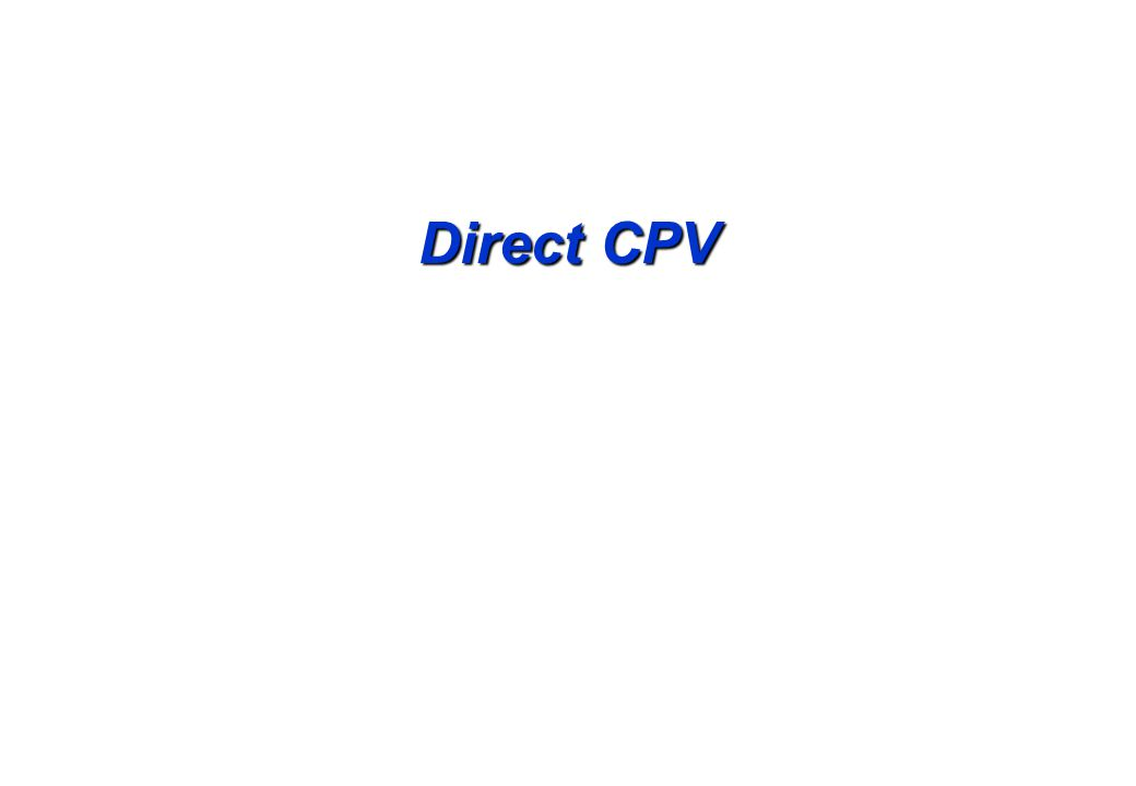 Direct CPV