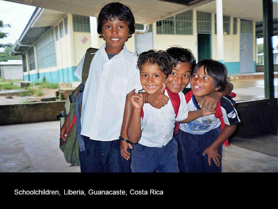 Schoolchildren, Liberia, Guanacaste, Costa Rica