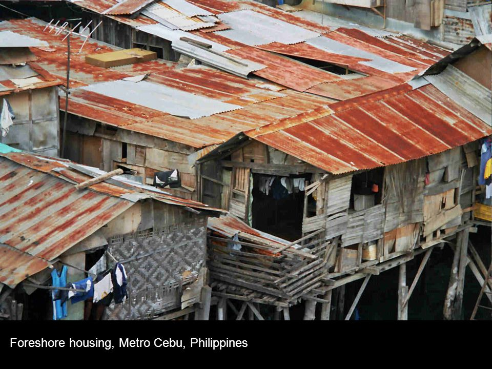 Foreshore housing, Metro Cebu, Philippines