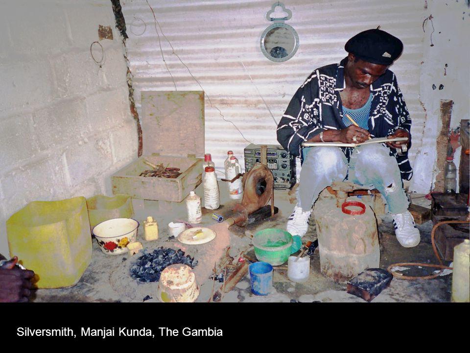 Silversmith, Manjai Kunda, The Gambia