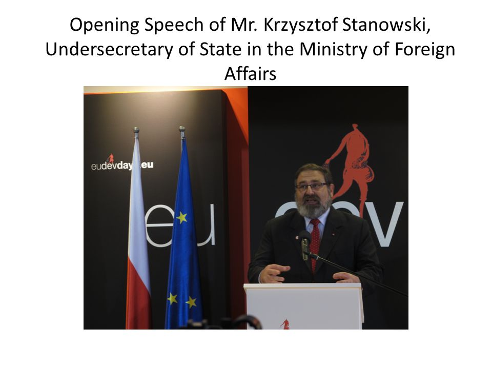 Opening Speech of Mr.