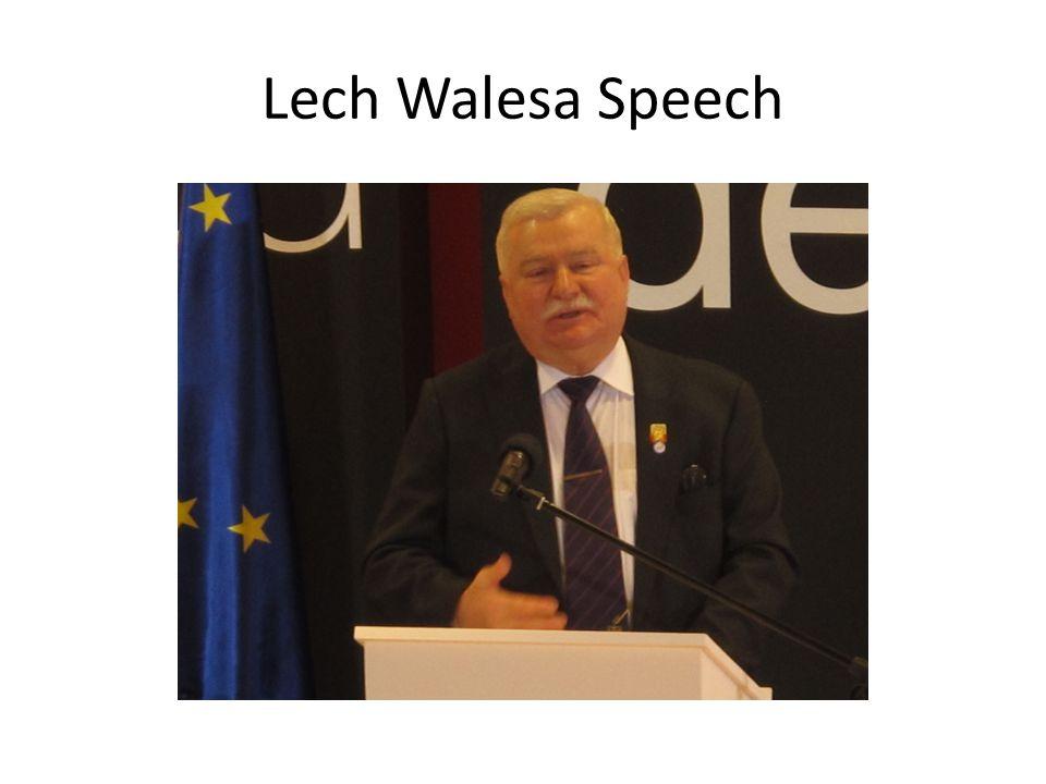 Lech Walesa Speech